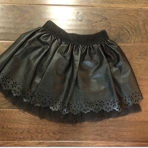 Faux Leather Skirt ( Kids)